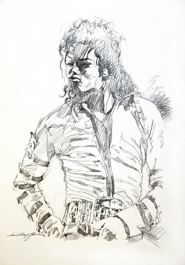 Mr. Jackson Drawing  - Mr. Jackson Fine Art Print