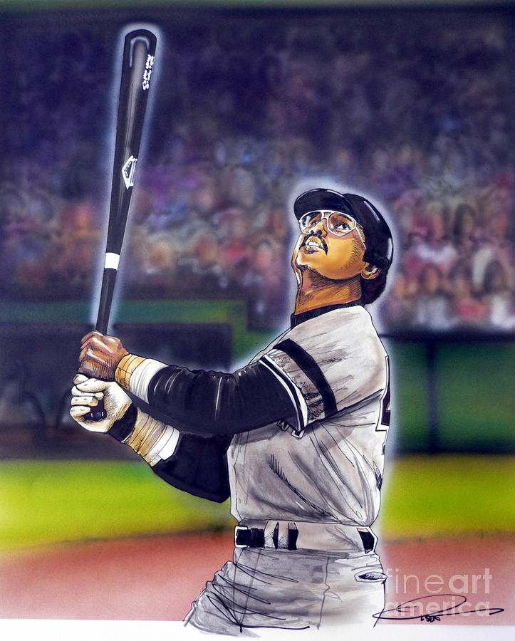 Mr. October Painting  - Mr. October Fine Art Print