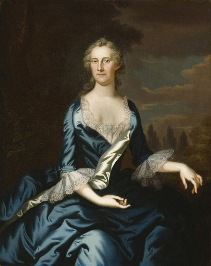 Mrs. Charles Carroll Of Annapolis Painting