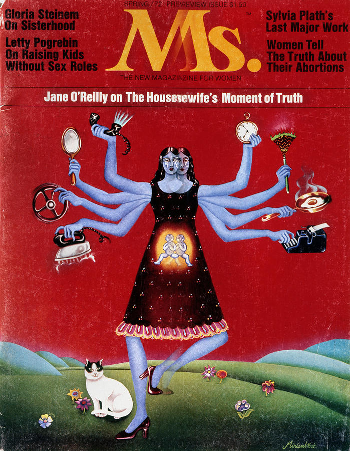 Ms. Magazine, 1972 Photograph