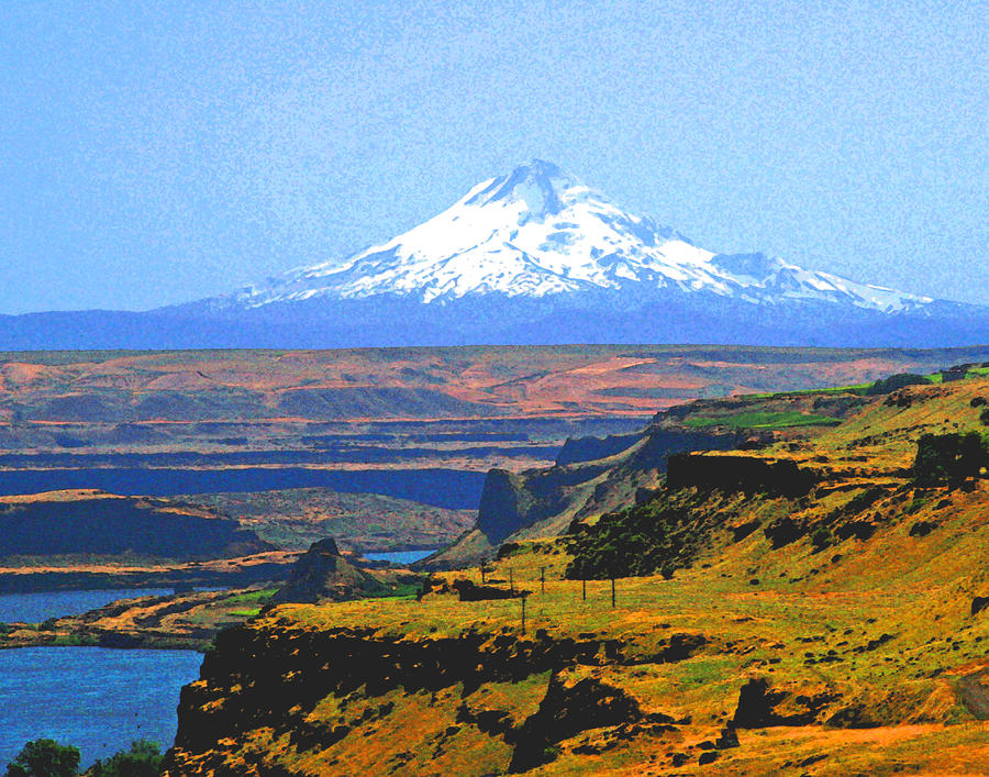 Mt hood and the columbia river gorge by margaret hood