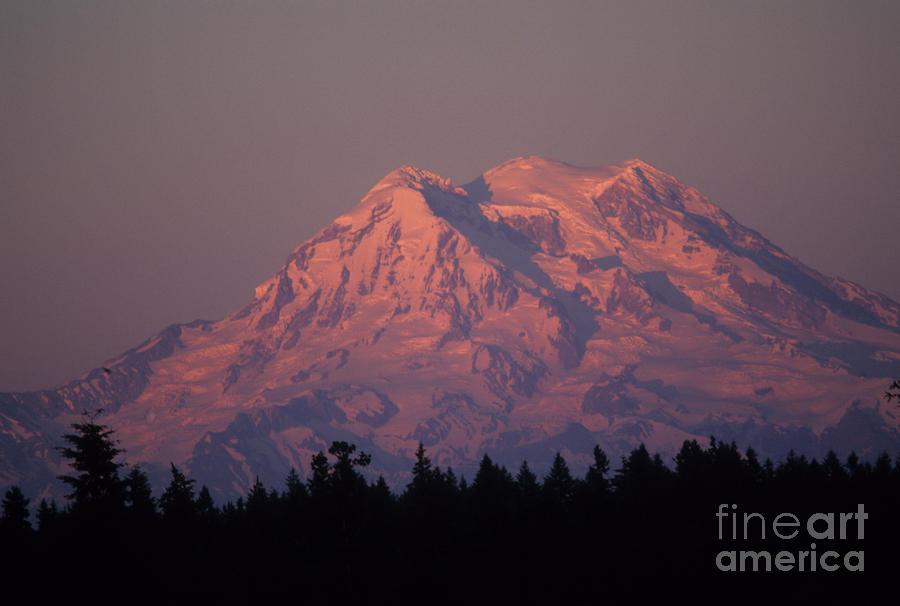 Mt. Rainier Washington Photograph