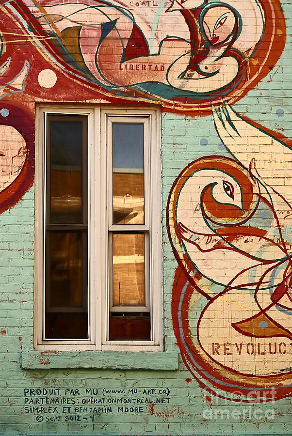 wall Art Photographs Photograph - Mu Wall by Aimelle