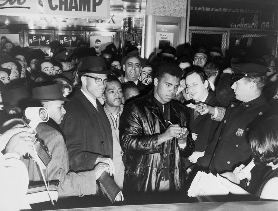 Muhammad Ali Cassius Clay Defeated Photograph