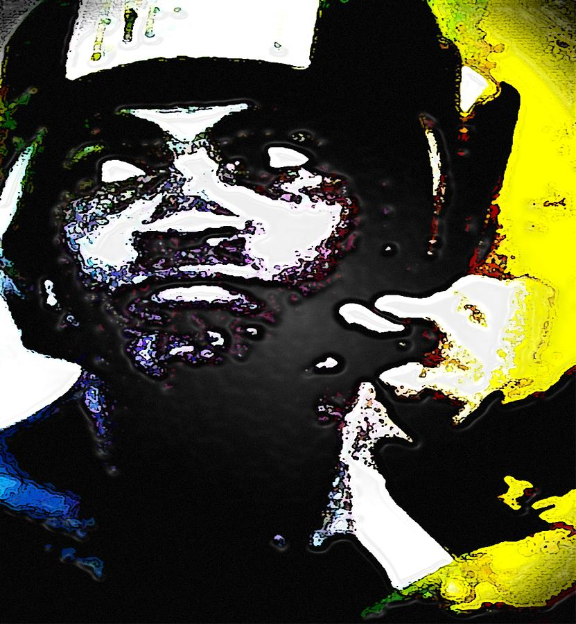 Muhammad Ali Mixed Media  - Muhammad Ali Fine Art Print