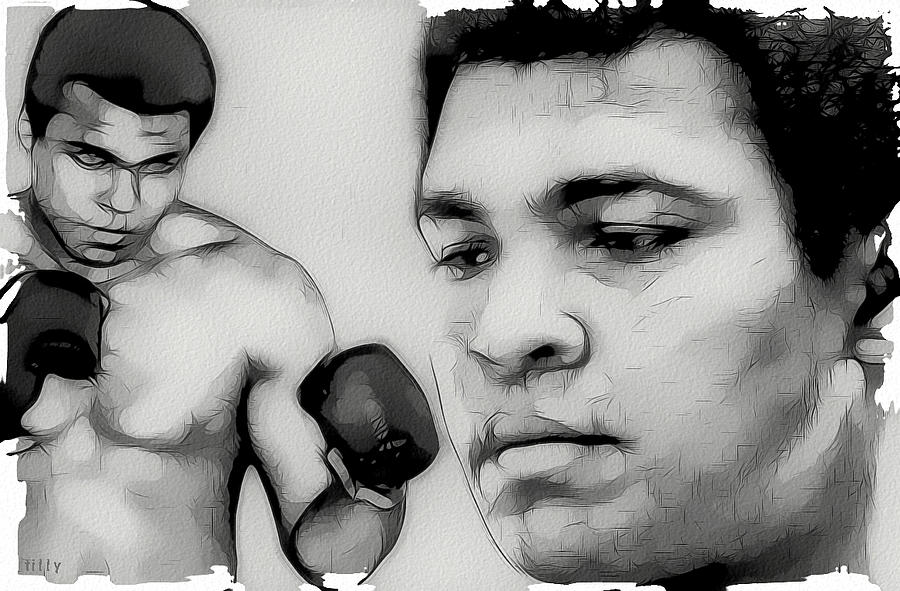 Muhammad Ali Digital Art