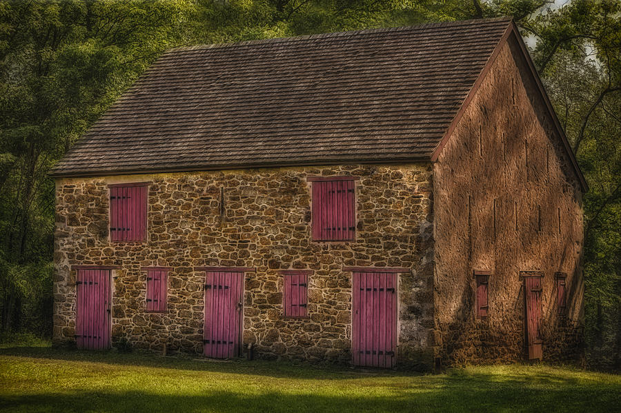 Mule Barn  Photograph