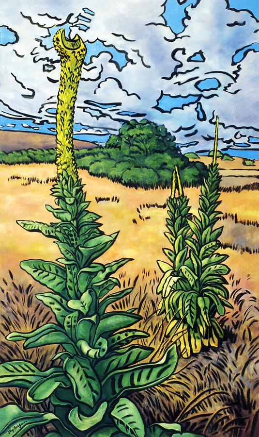 Mullein Painting