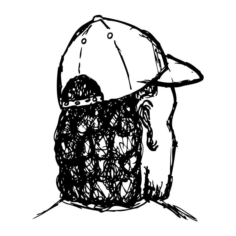 Mullet Drawing