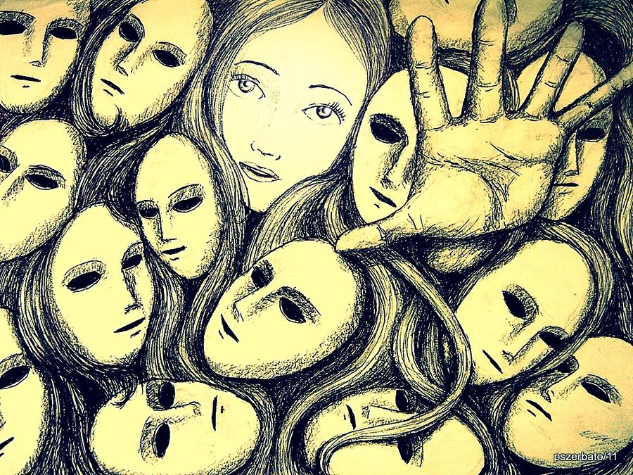 Multiple Personalities Digital Art