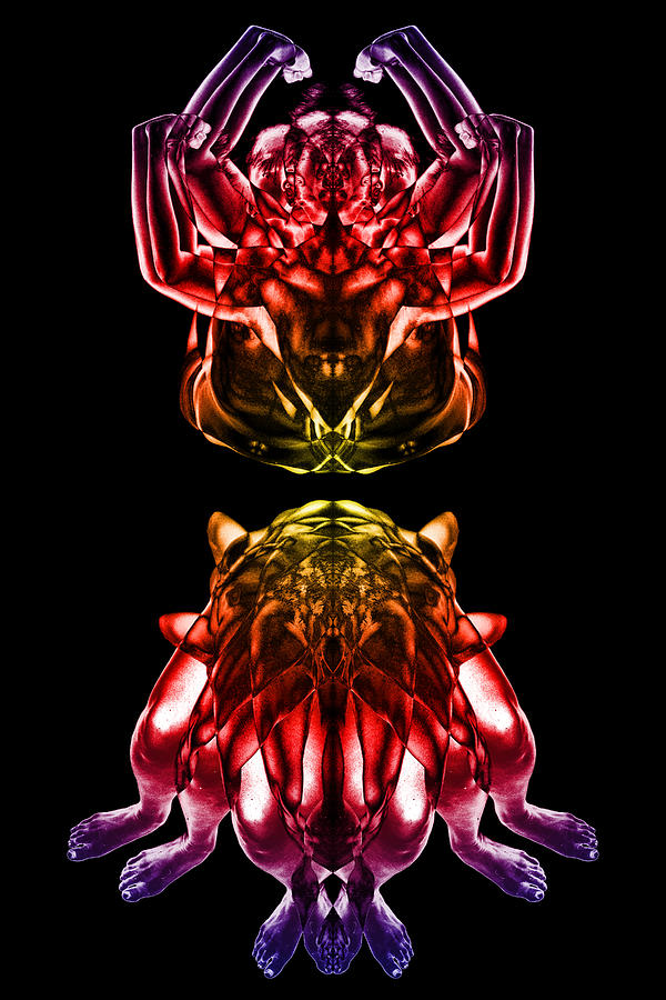 Multiplicity 1 Digital Art  - Multiplicity 1 Fine Art Print