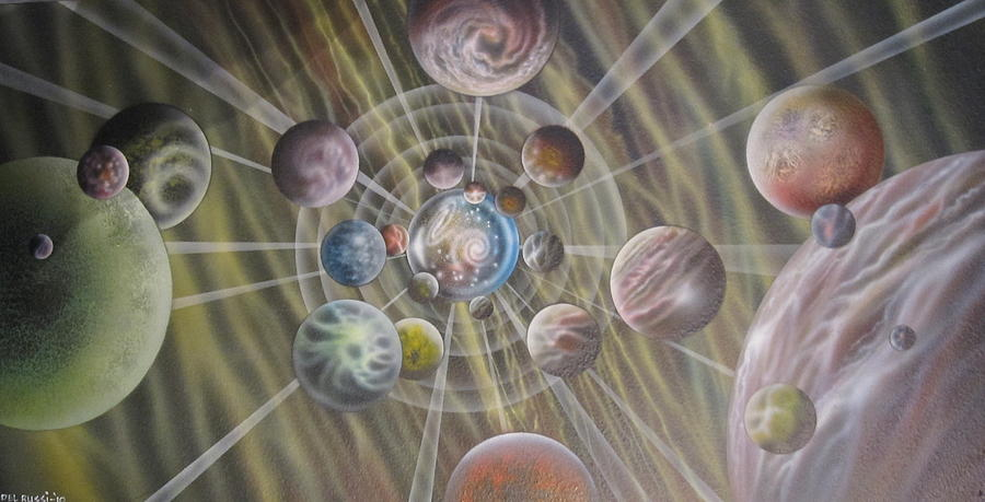 Multiverse 582 Painting