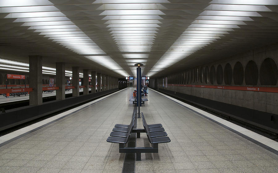 Munich Subway No.1 Photograph  - Munich Subway No.1 Fine Art Print