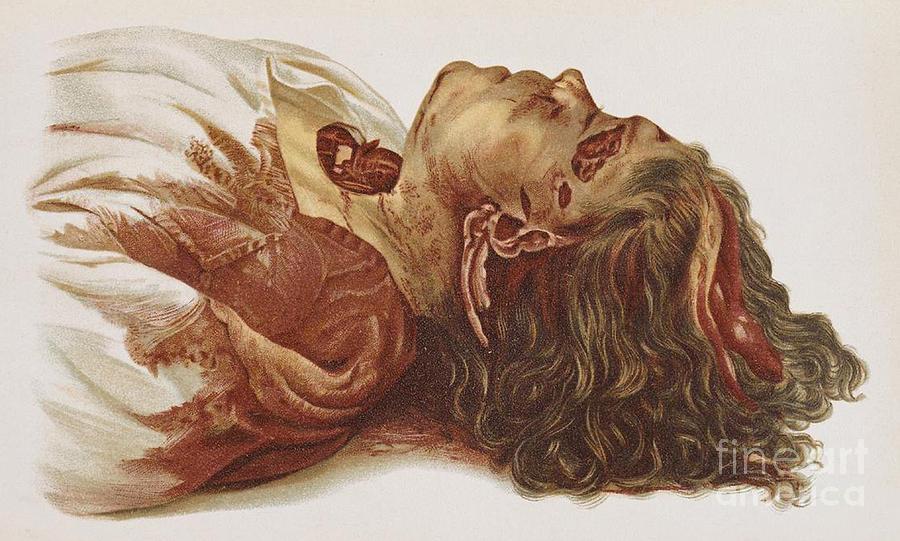 Murder Victim 1898 Photograph