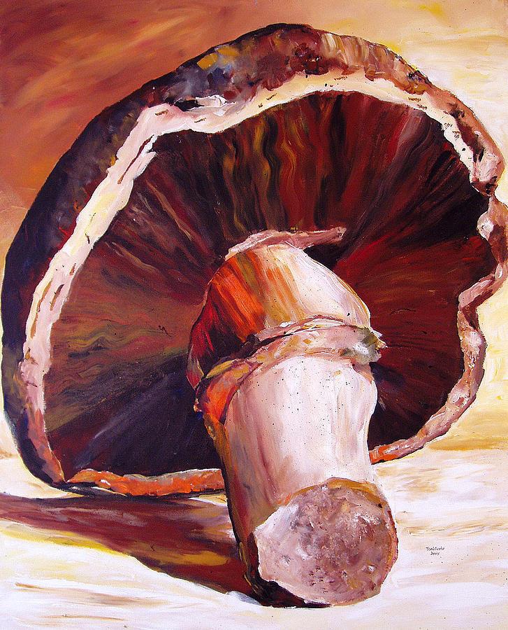 Mushroom Still Life Painting