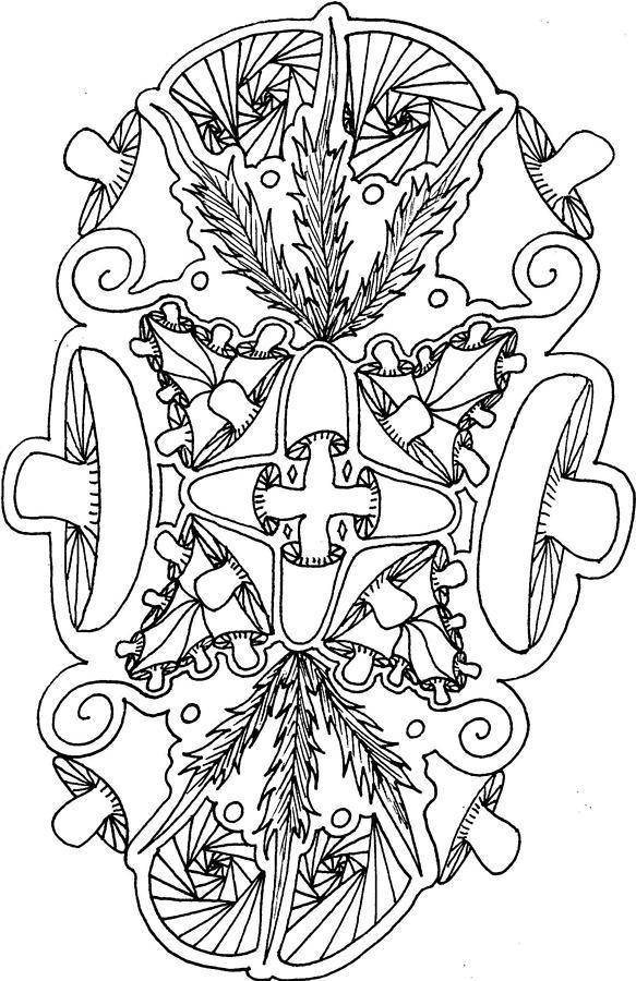 Mushroomind Drawing