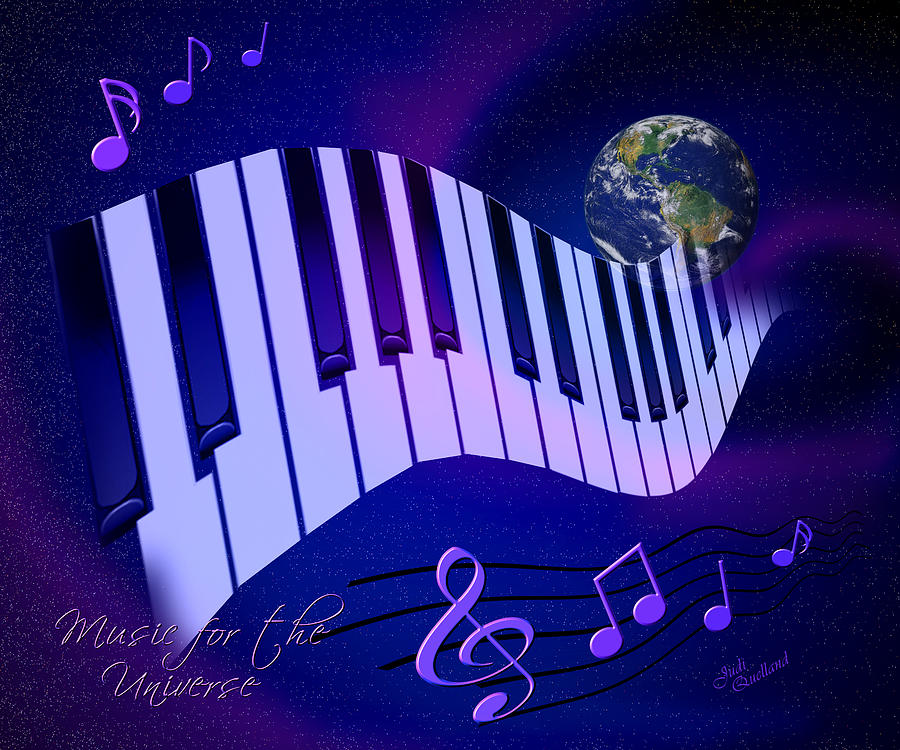 Music For The Universe Digital Art