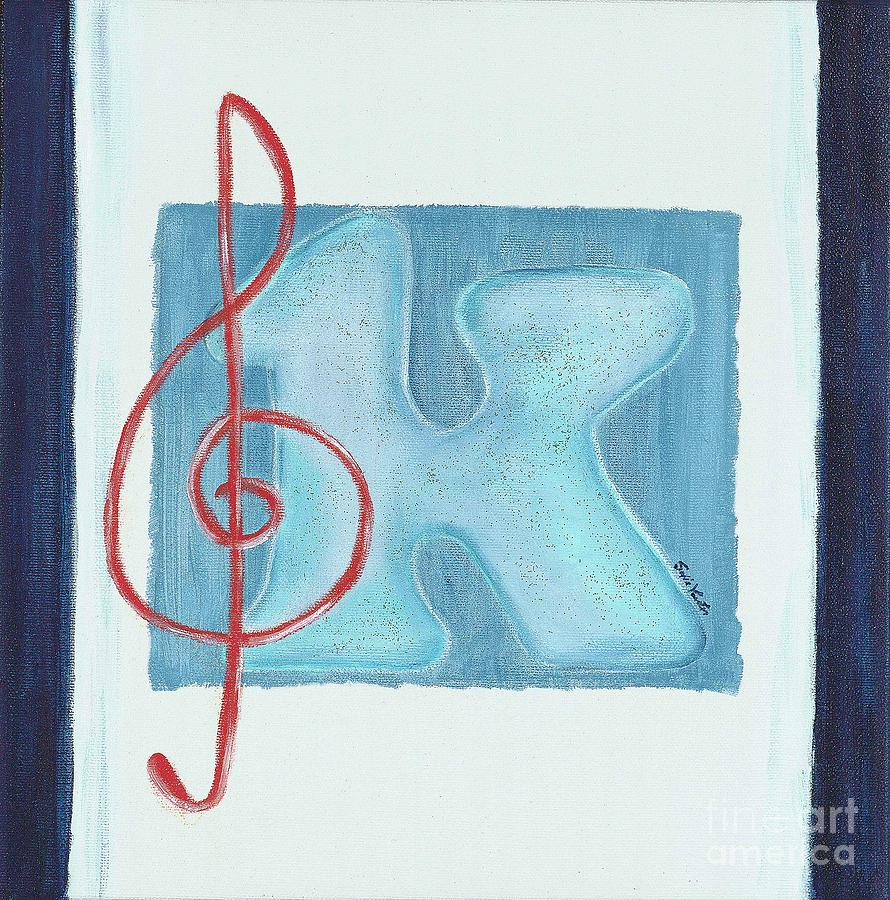 Music Note Painting  - Music Note Fine Art Print