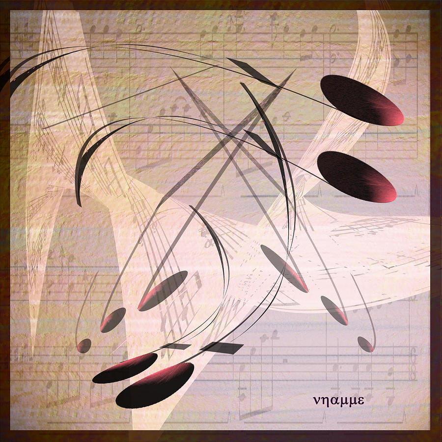 Music- The Lullaby Digital Art  - Music- The Lullaby Fine Art Print