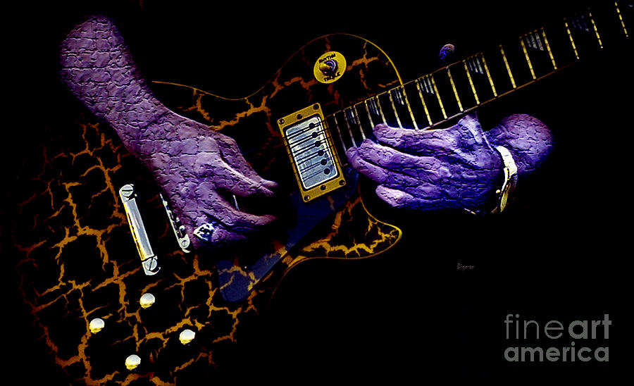 Musical Grunge  Photograph