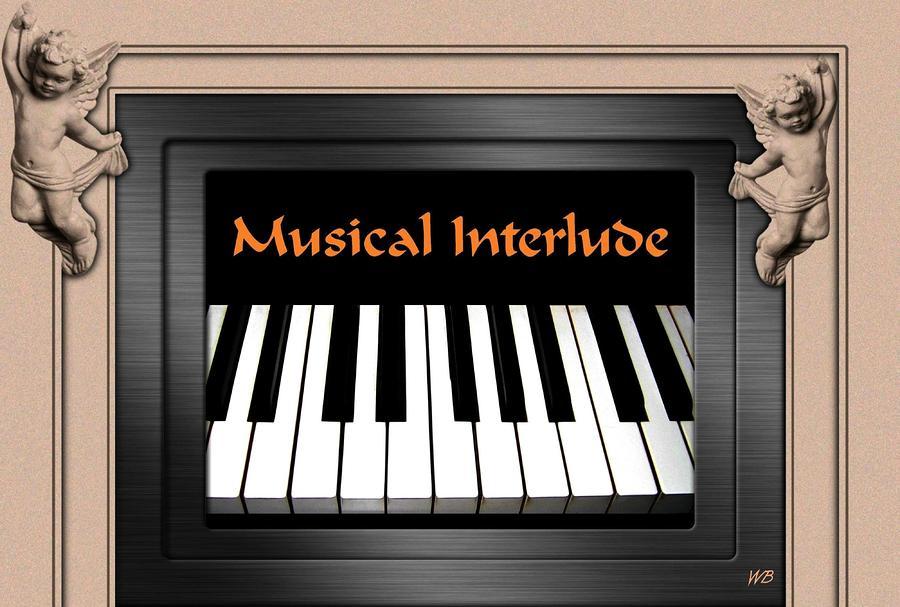 Musical Interlude Digital Art
