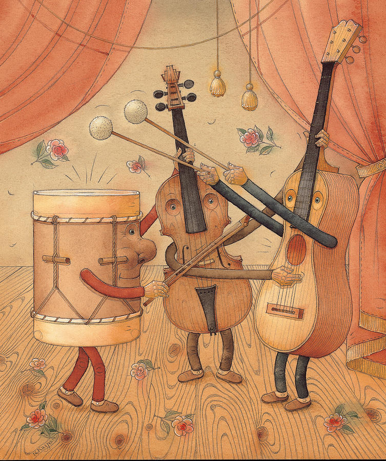 Musicians Painting