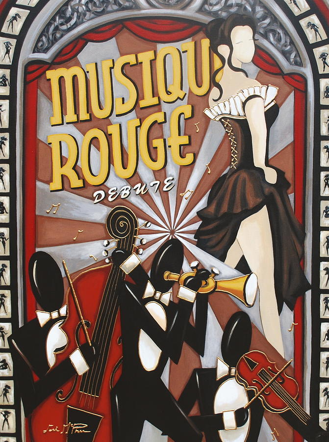 Musique Rouge Painting