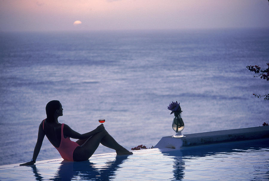 Mustique tranquility by slim aarons for Town and country magazine sweepstakes