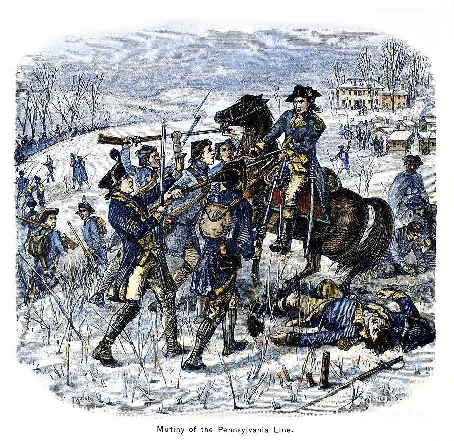 Mutiny: Anthony Wayne 1781 Photograph
