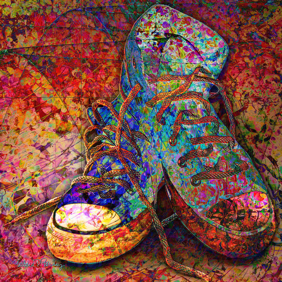 Shoe Lace Paint