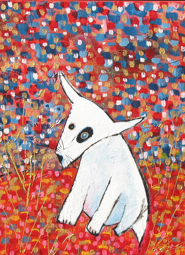 Dog.scottish Terrier. Painting - My Dog Blackie by Maureen Rocksmoore