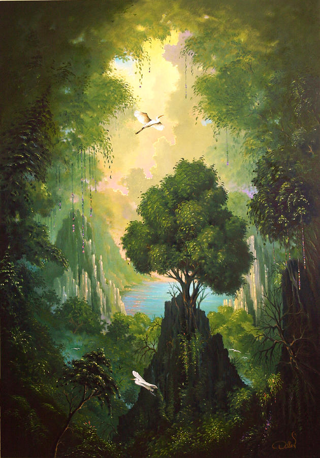 My Eden Painting  - My Eden Fine Art Print