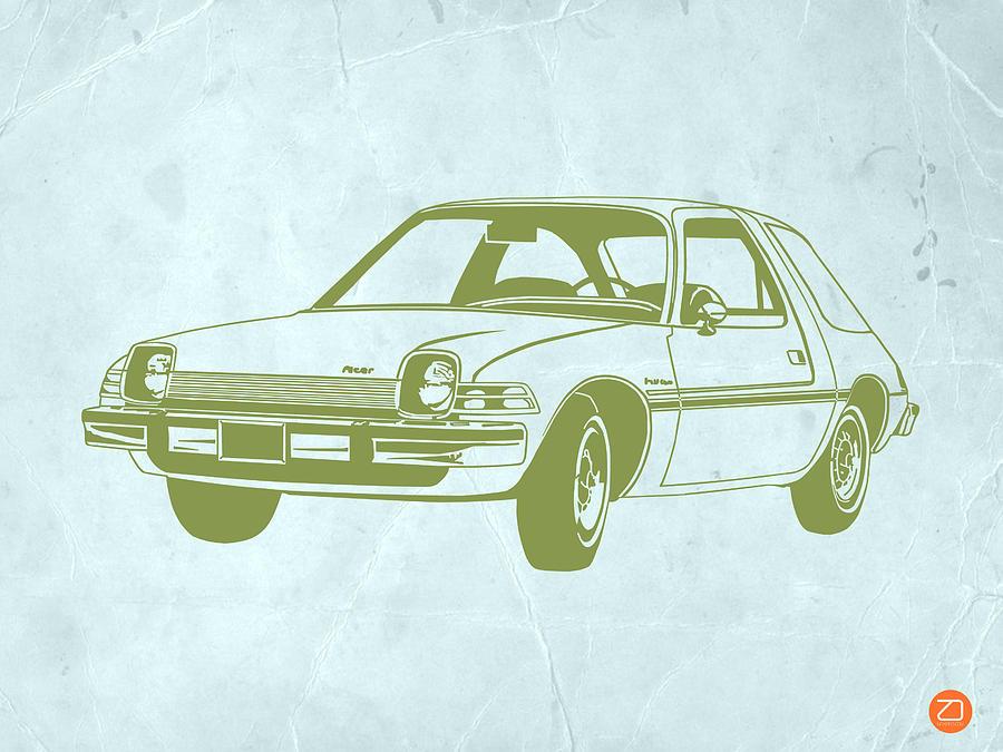 Auto Drawing - My Favorite Car  by Naxart Studio
