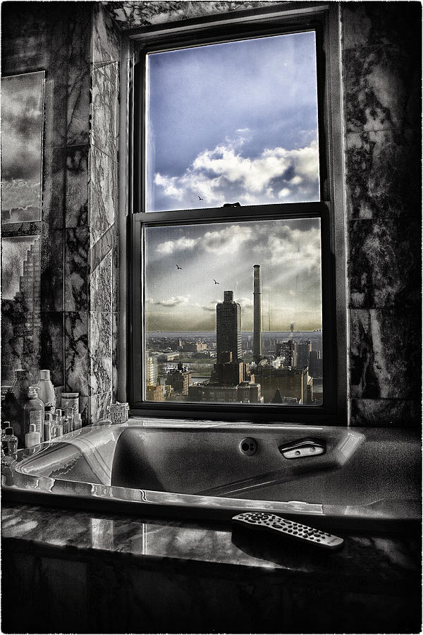 My Favorite Channel Is Manhattan View Photograph  - My Favorite Channel Is Manhattan View Fine Art Print