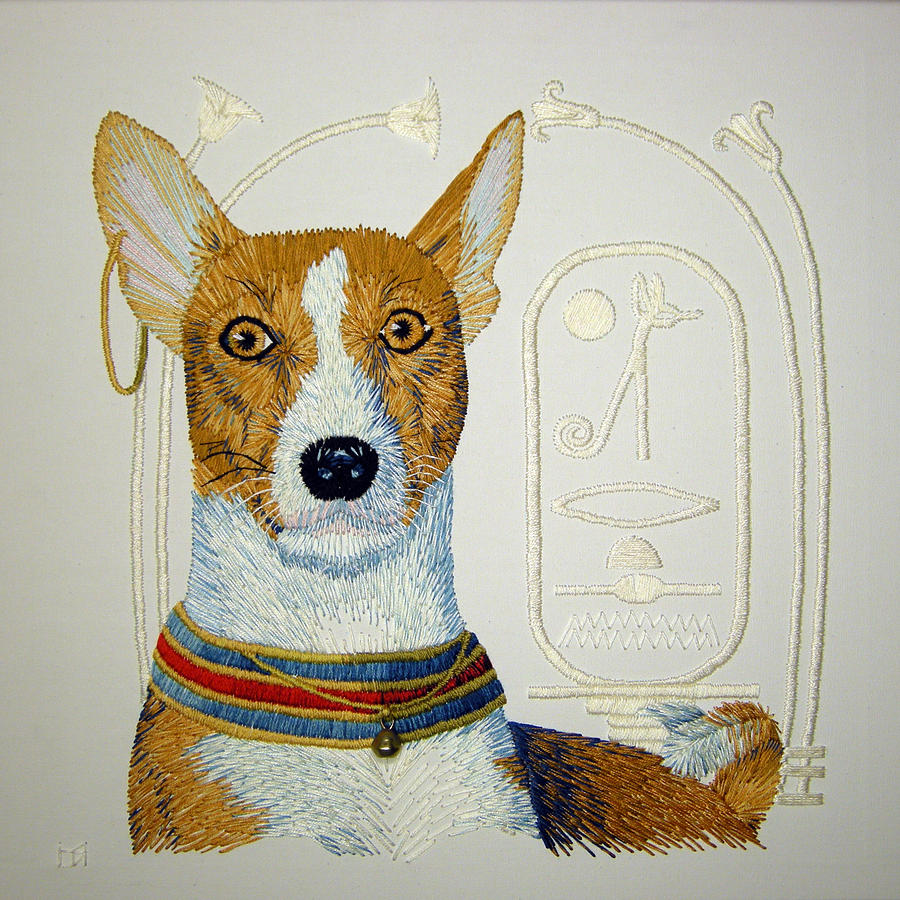 Basenji Tapestry - Textile - My Friend Jazz by Barbara Lugge