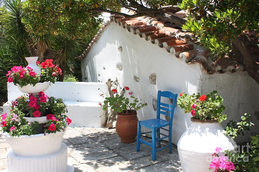 My Greek Garden Photograph