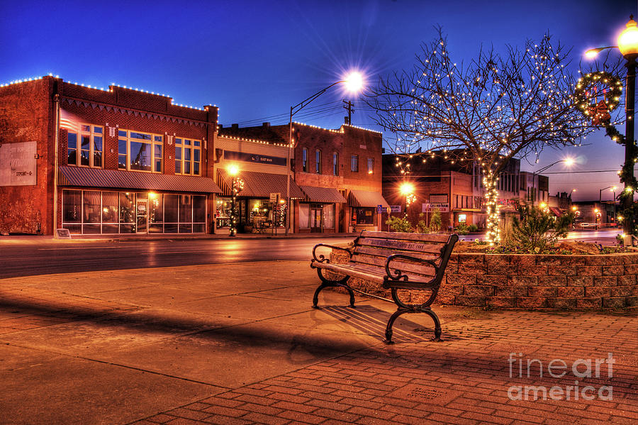 My Hometown Photograph  - My Hometown Fine Art Print