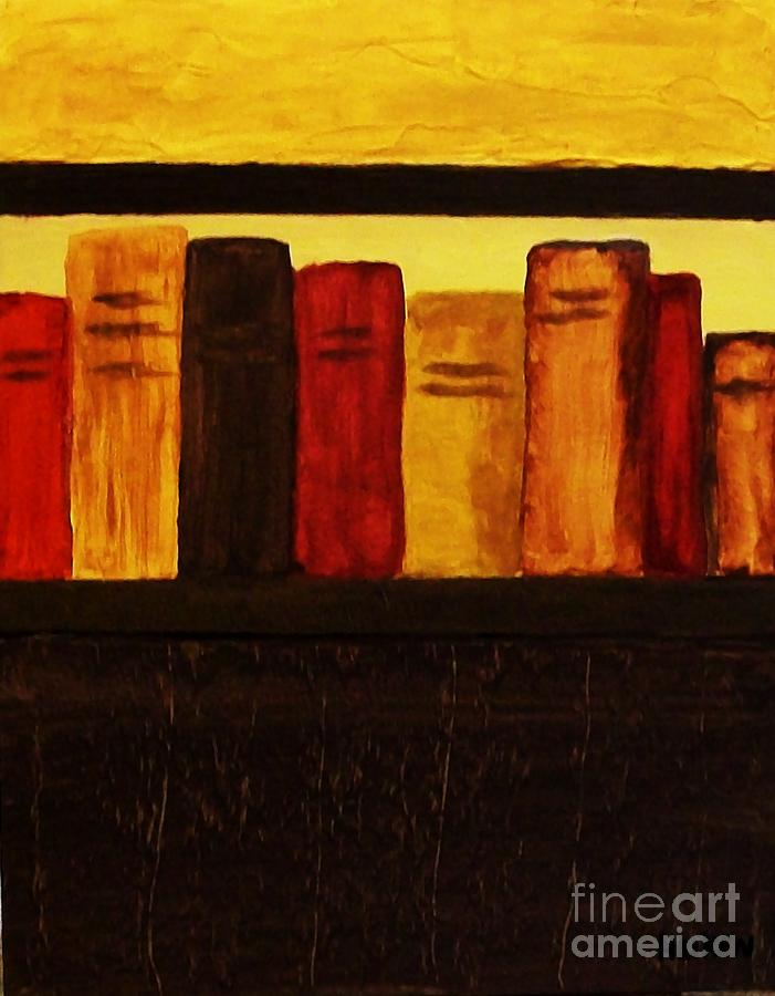 My Library Ll          Painting  - My Library Ll          Fine Art Print
