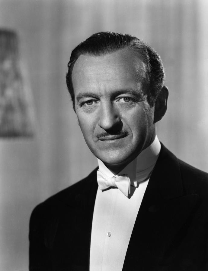 My Man Godfrey, David Niven, 1957 Photograph  - My Man Godfrey, David Niven, 1957 Fine Art Print
