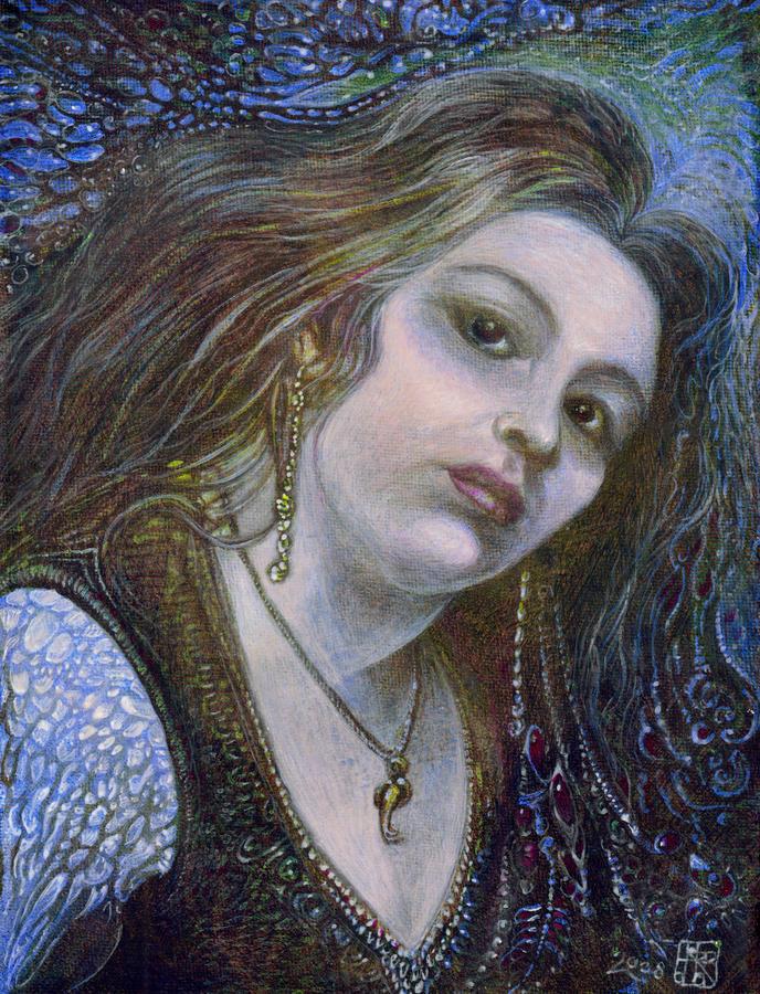 My Mermaid Christan Painting