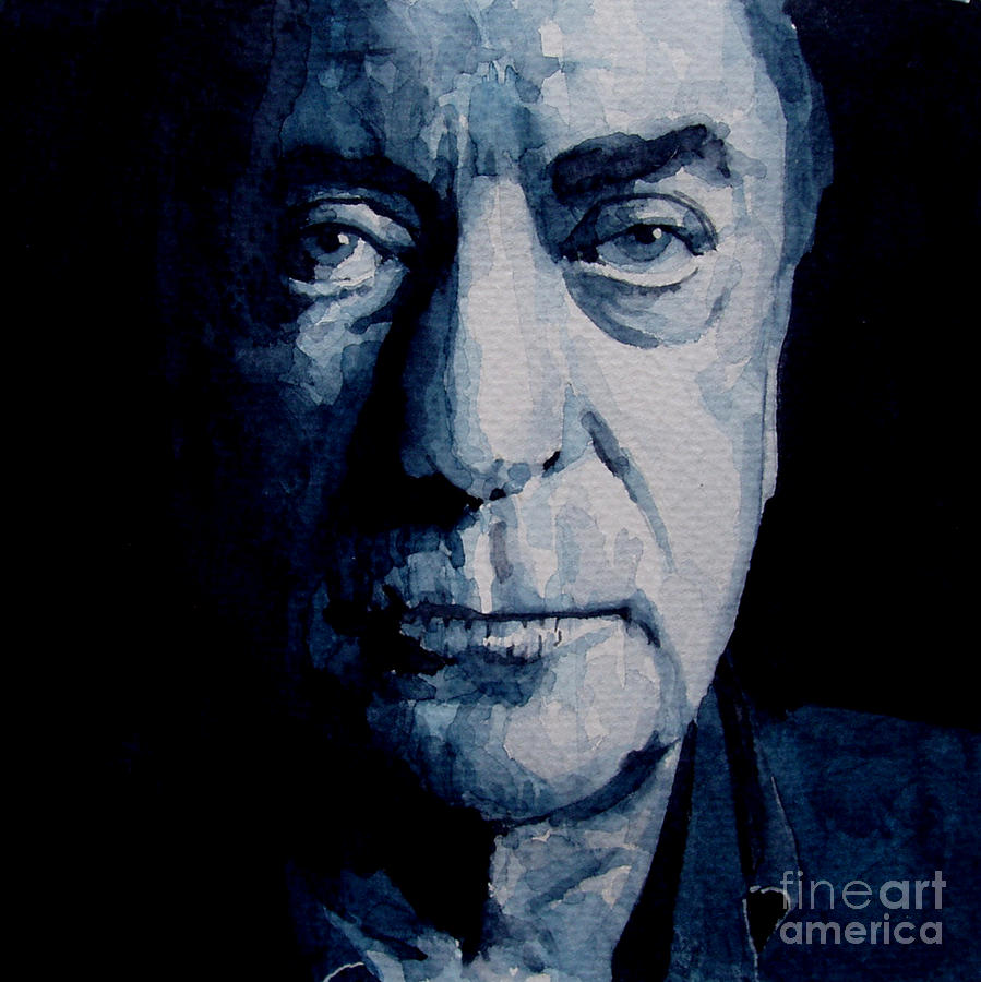 My Name Is Michael Caine Painting  - My Name Is Michael Caine Fine Art Print