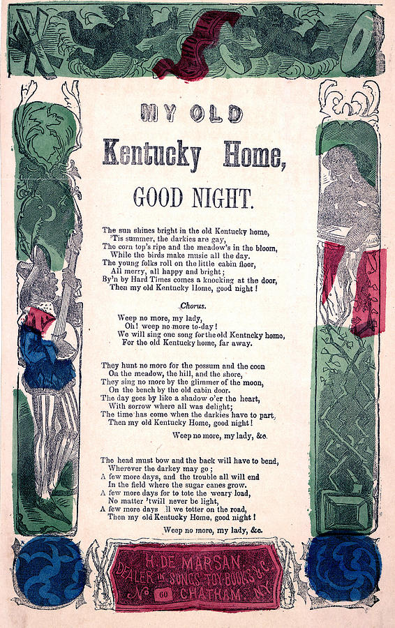 My Old Kentucky Home, Good Night Photograph