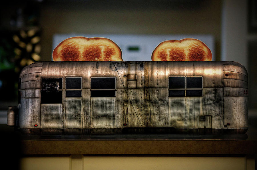 My Old Toaster Photograph  - My Old Toaster Fine Art Print