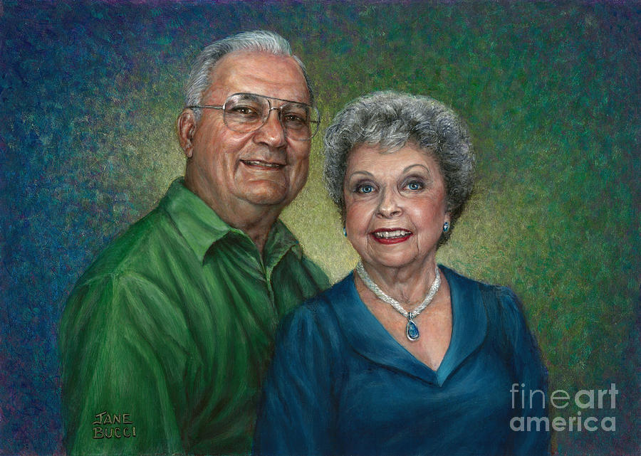 My Parents Portrait Painting