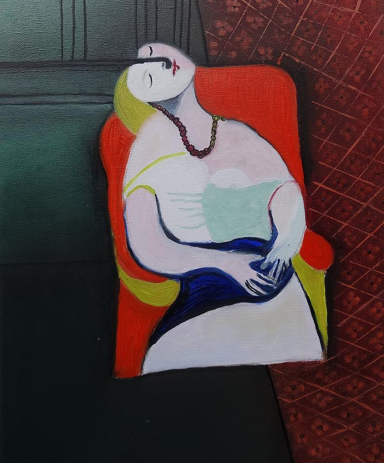 My Picasso Le Reve Painting