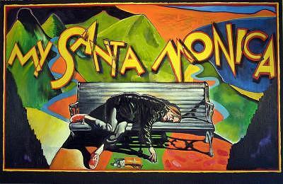 My Santa Monica Painting