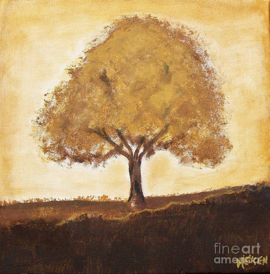 My Tree Painting  - My Tree Fine Art Print