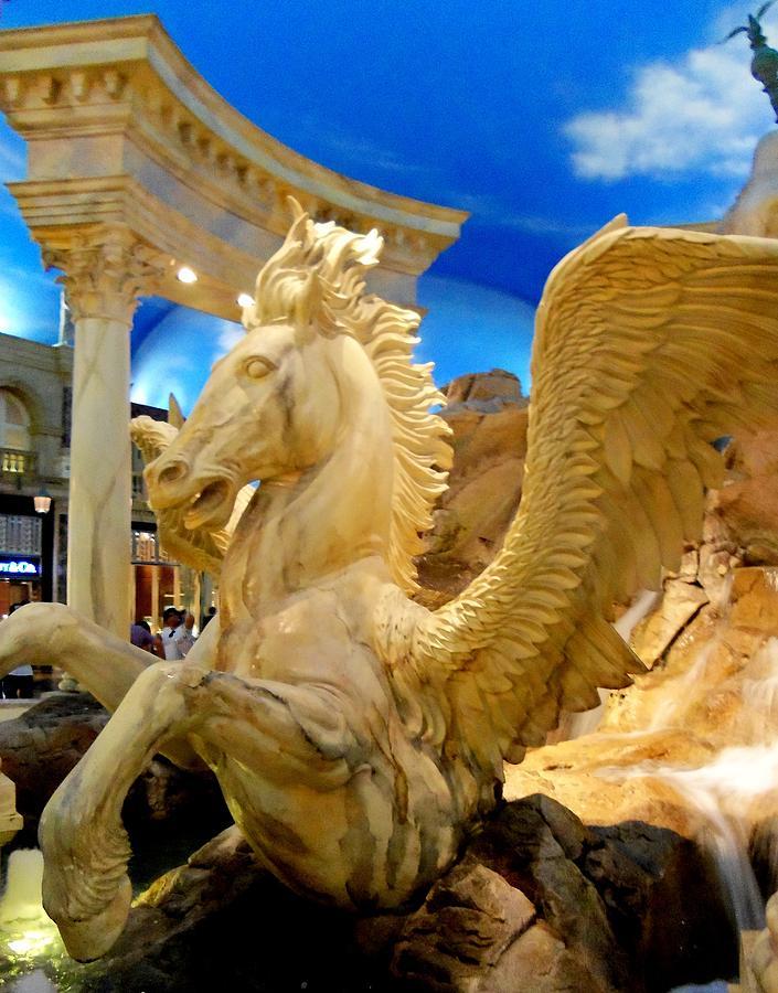 Vegas Photograph - My Vegas Caesars 13 by Randall Weidner