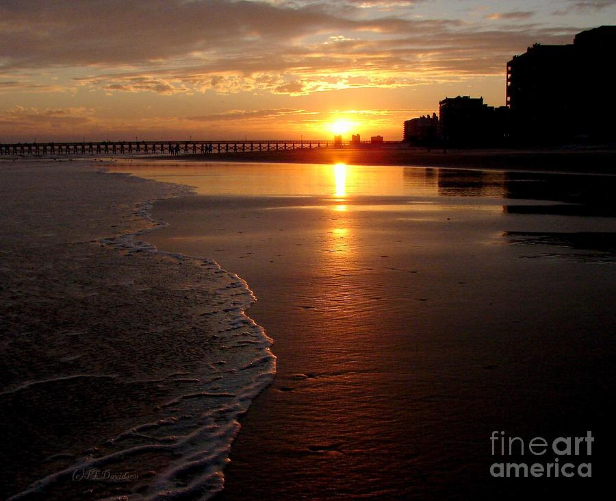 Myrtle Beach Sunset Photograph  - Myrtle Beach Sunset Fine Art Print