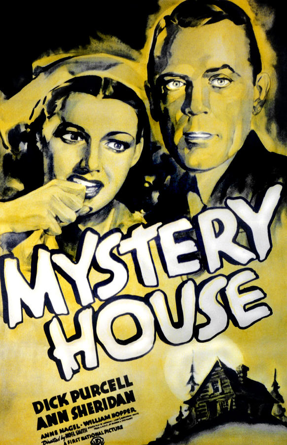 Mystery House, From Left Ann Sheridan Photograph